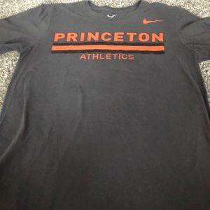 Nike gray Princeton tee shirt in medium.